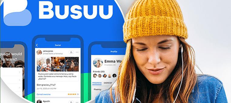 نرم افزار آموزش زبان انگلیسی BUSUU