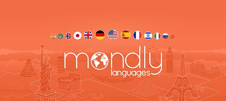 اپلیکیشن آموزش زبان انگلیسی MONDLY