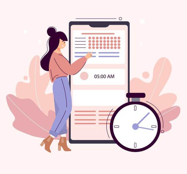 زمان بندی برای برنامه ریزی یادگیری زبان انگلیسی